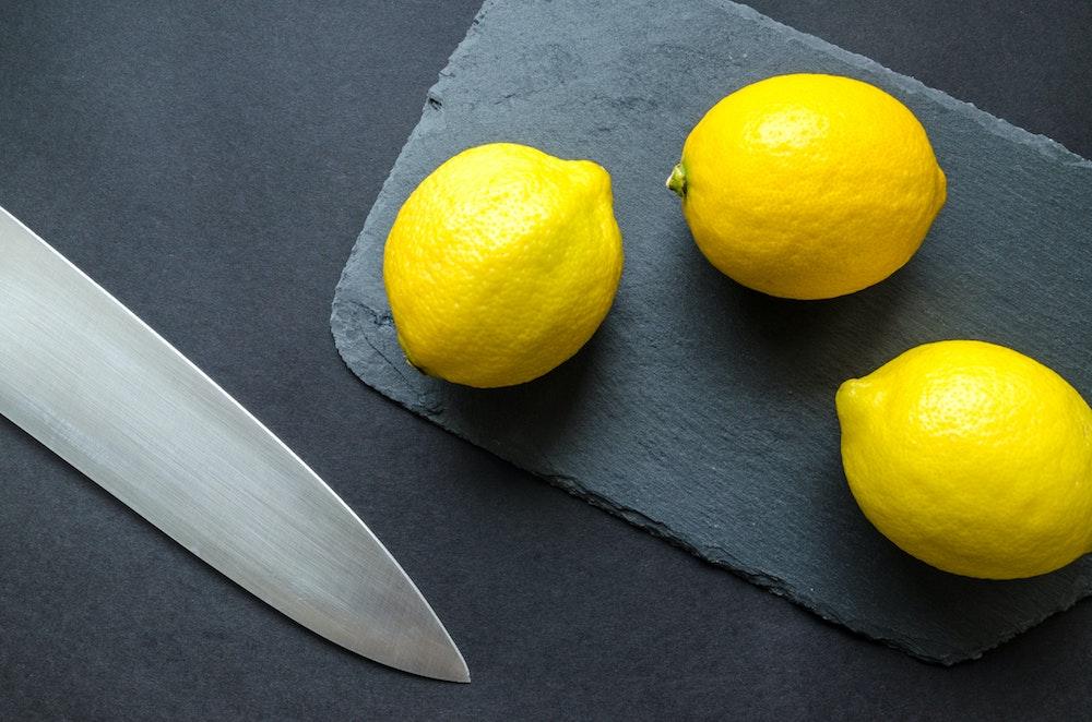 Limones. Alimentos para reducir el estrés
