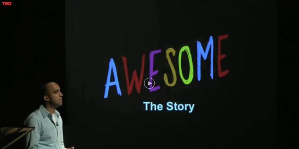 Un pensamiento positivo diario: '1000 Awesome Things'